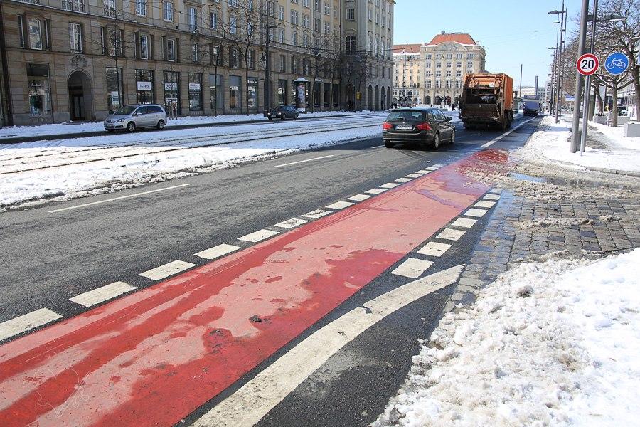 Дрезден Германия велосипед дорожки